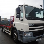 2009 DAF CF75-310 EURO 5 REAR LIFT AXLE 6X2