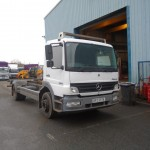 2005 MERCEDES ATEGO 13-23 CHASSIS CAB