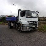 2012 MERCEDES AXOR 18-24 3 WAY TIPPER