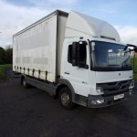 NOVEMBER 2012 MERCEDES ATEGO 816 20FT CURTAIN