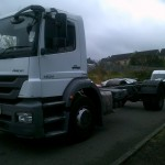 2012 MERCEDES AXOR 12-24 CHASSIS CAB